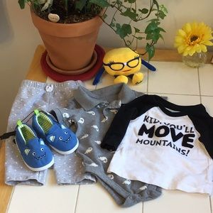 New Slip-Ons/3 Cute Pieces for a Boy